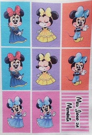 Jogo da memória Minnie
