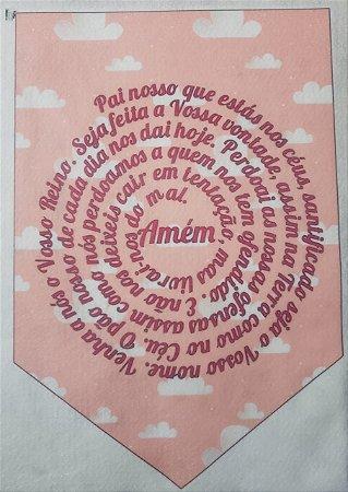 Flamula Pai Nosso Rosa