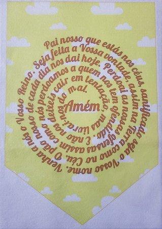 Flamula Pai Nosso Amarelo