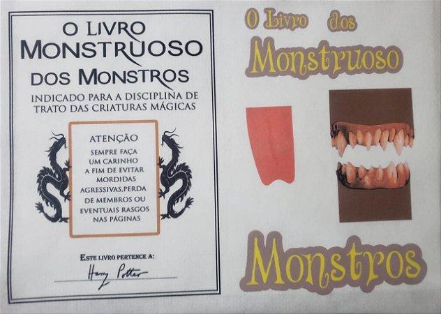 Harry Potter - O livro monstruoso dos monstros