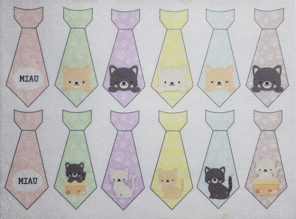 Gravatinhas Pet - Gatos