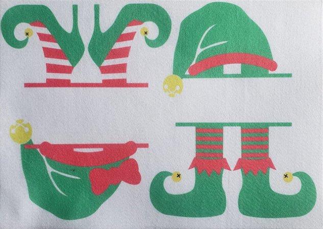 Porta Recado de Natal Gnomos