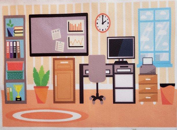 Comodo escritório 1 Bonequinha de vestir