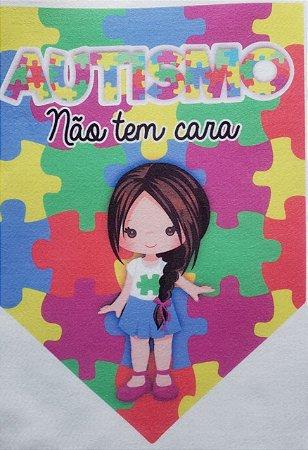 Flamula o Autismo não tem cara menina 3