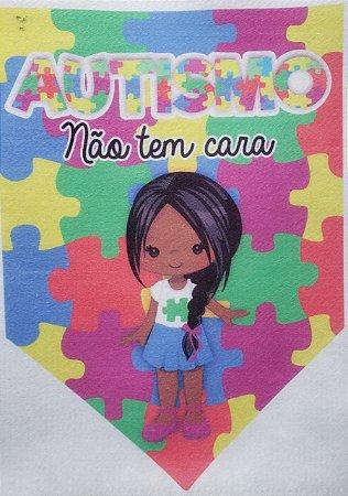 Flamula o Autismo não tem cara menina 4