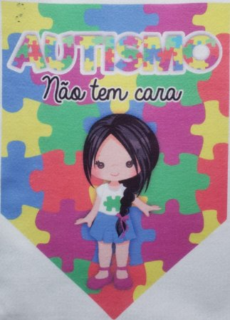 Flamula o Autismo não tem cara menina 5