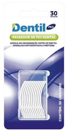 Passador de Fio 6 Pacotes com 30 Unidades Dentil Pro