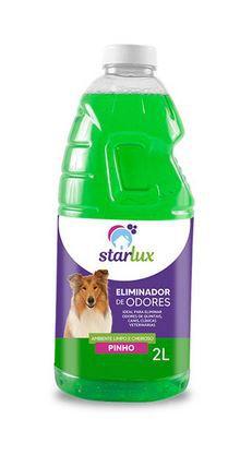 Eliminador de Odores Pinho 2L Starlux Pet