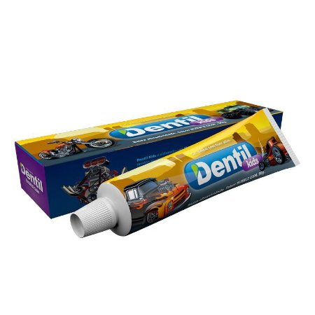 Gel Dental Dentil Kids Bumble Gum c/ Flúor 50g ( sabor Buble Gum )