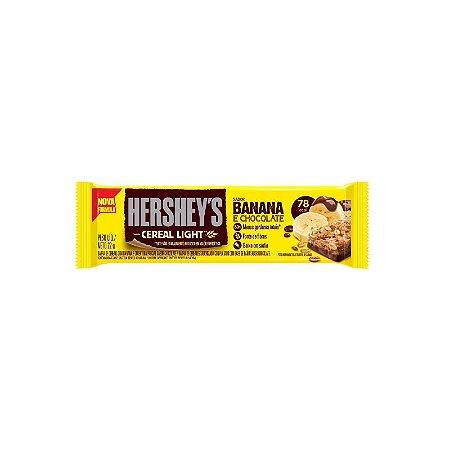 Barra de Cereal Hersheys Banana Light e Chocolate 22g (79 Calorias)