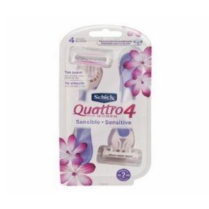 Aparelho Schick Quattro Sensitive For Women Descartável  - 1 X 2