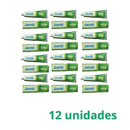 Creme Dental Dentil Nature Vegano S/Flúor C/Xilitol 12 Unidades 90G