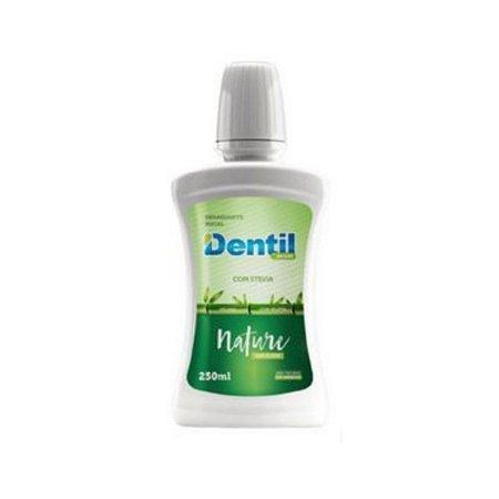 Enxaguante Bucal Dentil 250ML Nature C/Stevia S/Flúor C/Xilitol 1 Unidade