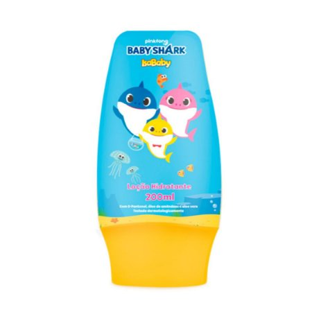 Isababy Baby Shark Hidratante 200ML 1 Unidade