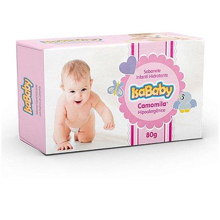 Isababy Sabonete Infantil Hidratante Camomila 12 Unidades 80G