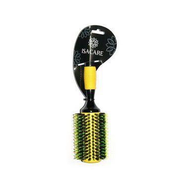 Isacare Escova Profissional Yellow Hit C/Tubo Metálico 40MM 1 Unidade