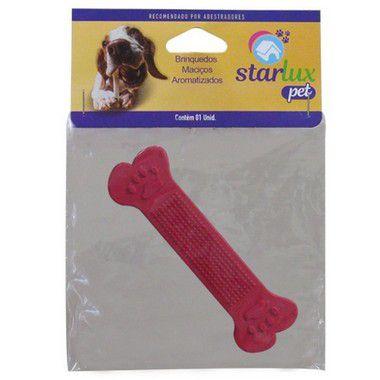 Starlux Pet Osso Topbone Borracha Nº 2 Com 3 Unidades
