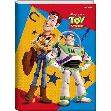 Starschool Caderno Universitário Costurado Toy Story Capa Dura 80 Folhas com 5 Unidades