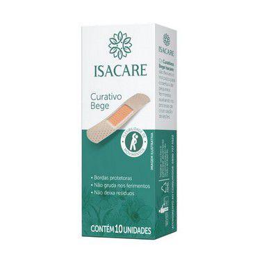Isacare Curativo Bege 10 Pacotes Com 10 Unidades