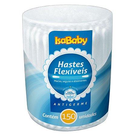 Isababy Haste Flexível Pote 12 Pacotes Com 150 Unidades