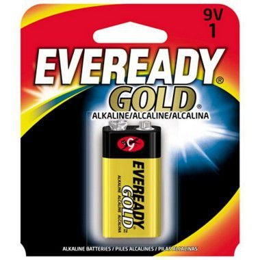 Bateria Eveready Alcalina Gold 9V 12 Unidades