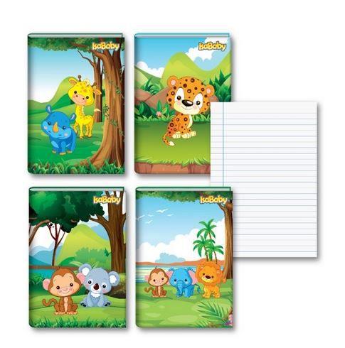 Caderno Pedagógico CF Brochura 80F 10 Unidades Isababy Zoo