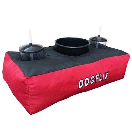 Almofada Porta Pipoca - DogFlix