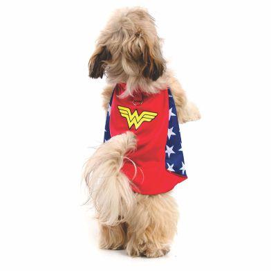 Capa para cachorro Mulher Maravilha