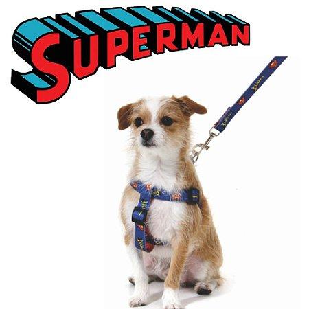 Peitoral para cachorro do Superman