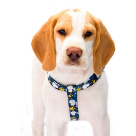 Peitoral para cachorro Snoopy Blue
