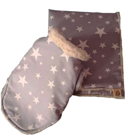 Blusa e Cobertor para Cachorro estampa Star Puppy