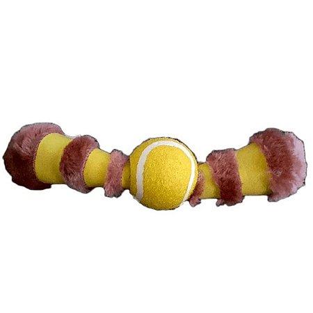 Brinquedo para Cachorro Antiestresse Bola puxa-puxa