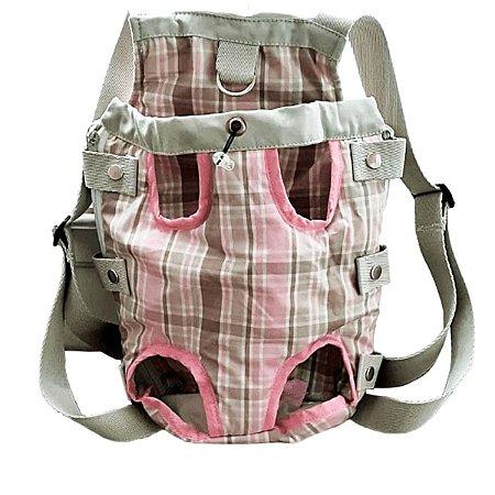 Bolsa para Cachorro Canguru Outback Pink