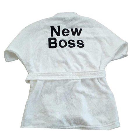 Roupão de Banho para Cachorro New Boss