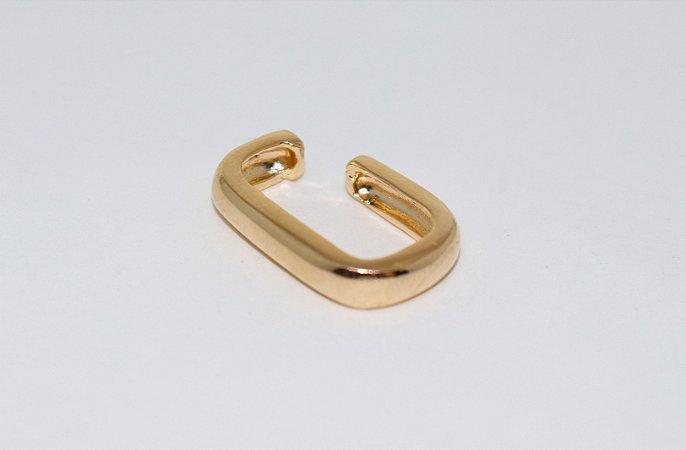 Piercing Quadrado - Gold