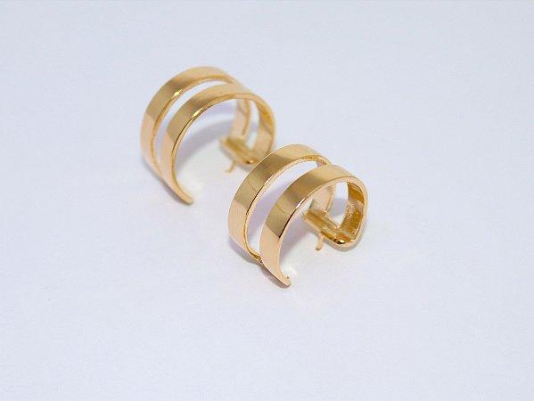 Argola Dupla GG - Gold