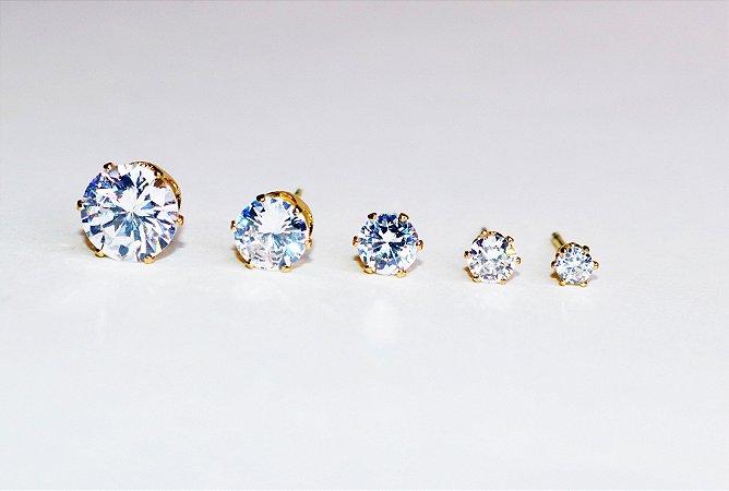 Ponto de Luz Cristal Brilhante - Gold