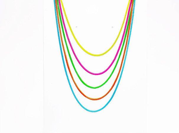 Colar Color Aquarelas