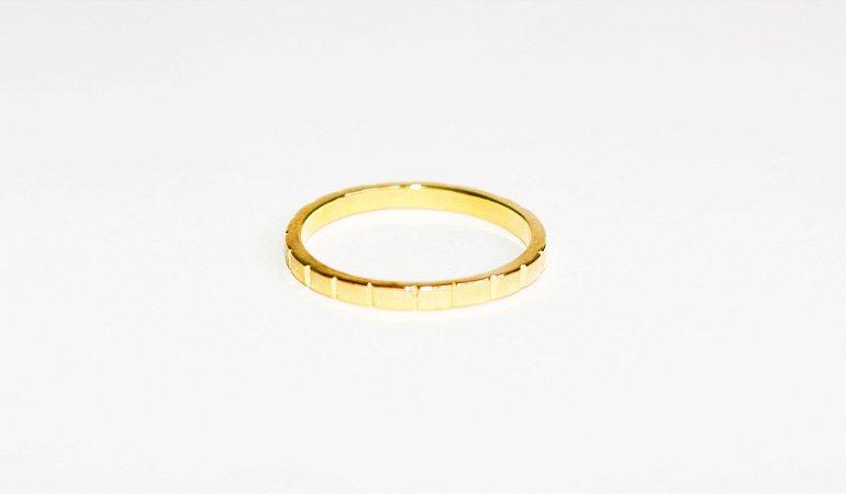 Anel Listrinhas - Gold