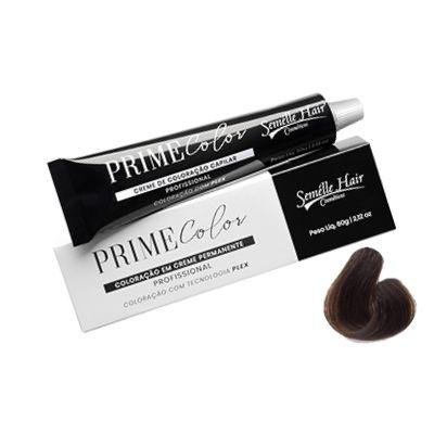 Prime Color 5.0 Castanho Cinza - Coloração Profissional 60g