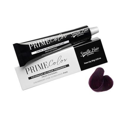 Prime Color 5.20 Castaho Claro Violeta Intenso - Coloração Profissional 60g