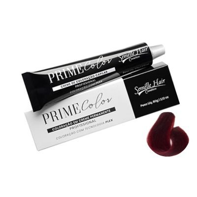Prime Color 6.66 Louro Escuro Vermelho Intenso - Coloração Profissional 60g