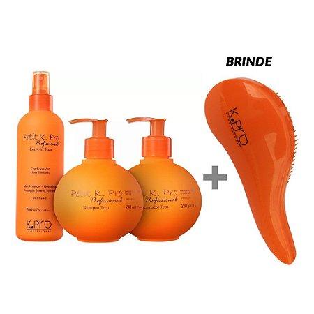 K.Pro Petit Kit Sh 240ml + Cd 230ml + Spray 200ml + Brinde