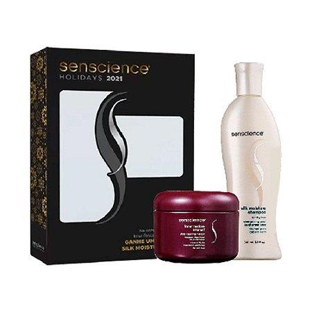 Senscience Kit Silk Moist. Shampoo + Inner Restore Máscara