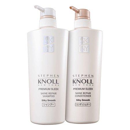 Stephen Knoll Shine Repair Silk Smooth Sh 500ml + Cd 500ml