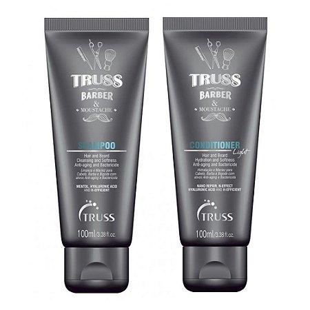 Truss Barber & Moustache Shampoo 100ml + Condicionador 100ml