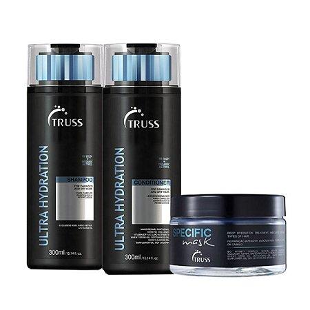 Truss Ultra Hydration Sh 300ml + Cd 300ml + Spec Mask 180g