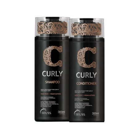 Truss Curly Shampoo 300ml + Condicionador 300ml