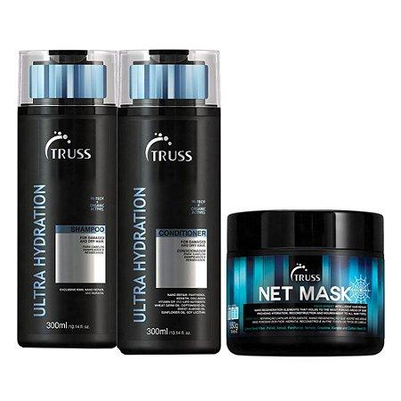 Truss Ultra Hydration Sh 300ml + Cd 300ml + Net Mask 550g