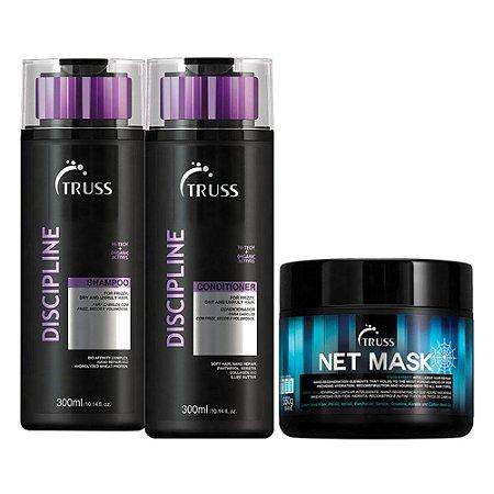 Truss Discipline Sh 300ml + Cd 300ml + Net Mask 550g